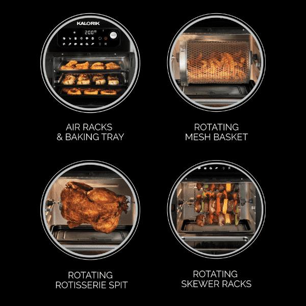 תנור טיגון ללא שמן kalorik