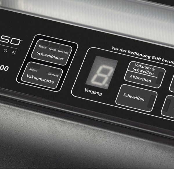 מכונת ואקום מקצועית מבית Caso Design הגרמנית