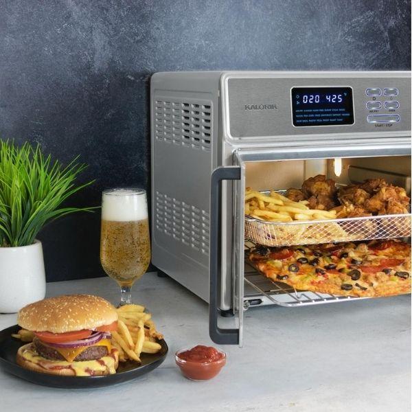 תנור טיגון חכם ובריאותי קלוריק 25 ליטר מבית קלוריק KALORIK דגם Maxx Air Fryer